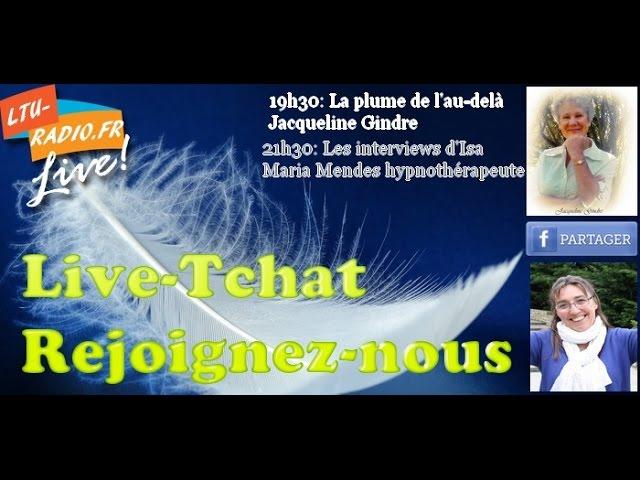 la plume de l'au delà - Ecriture automatique médiumnité   Jacqueline Gindre   25 05 2016