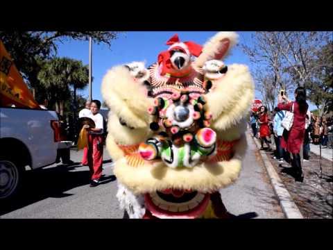 20170211 - Orlando, Florida - 33 Minute Video of the Dragon Parade & Lunar New Year Festival
