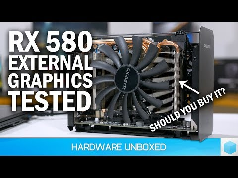 Gigabyte RX 580 Gaming Box Review, Is An AMD EGPU Worth It?