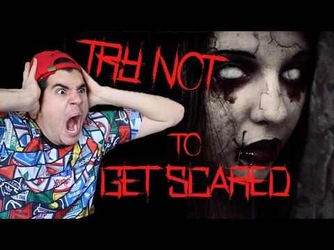 Thumbnail: TRY NOT TO GET SCARED CHALLENGE! (EXTREMELY HARD)