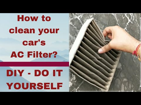 DIY | How to Clean Car AC Filter | Clean Swift Ac Filter/Cabin Filter at Home | Do It Yourself