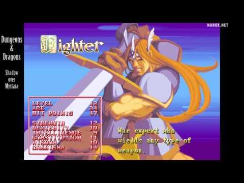 Dungeons & Dragons Shadow over Mystara / attract mode auto demo / 1996