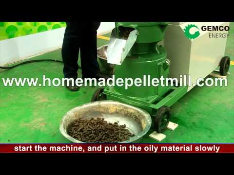 GEMCO Biomass Flat Die Pellet Mill with Electric Motor is Your Ideal Choice