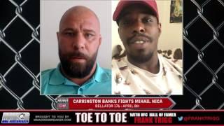 Frank Trigg interviews Bellator 176's Carrington Banks