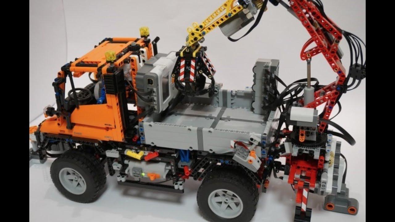 lego technic 8110 fully motorized unimog with mindstorms. Black Bedroom Furniture Sets. Home Design Ideas