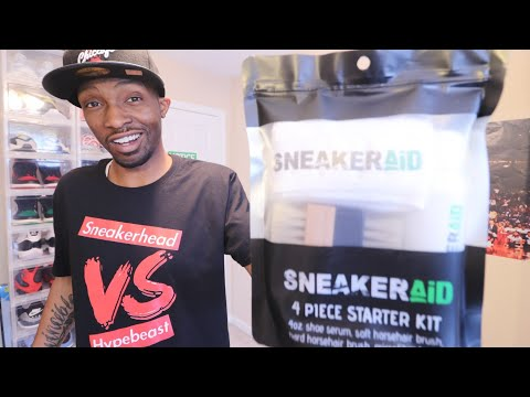DOES THIS STUFF REALLY WORK? SNEAKERAID CLEANING KIT
