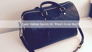 Louis Vuitton Speedy 30 What