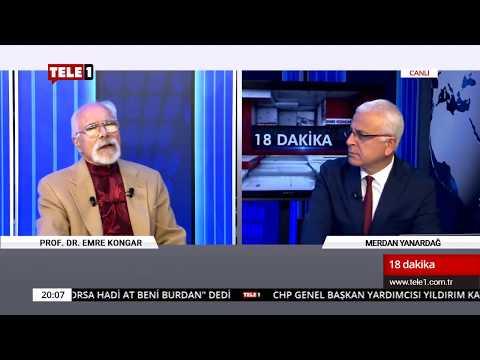 18 Dakika - (9 Kasım 2018) Merdan Yanardağ & Prof. Dr. Emre Kongar   Tele1 TV