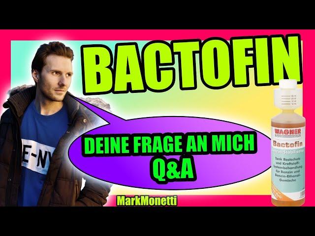 Wie benutze ich das Bactofin von Wagner? Erstanwendung | Coffee-Timee | MarkMonetti