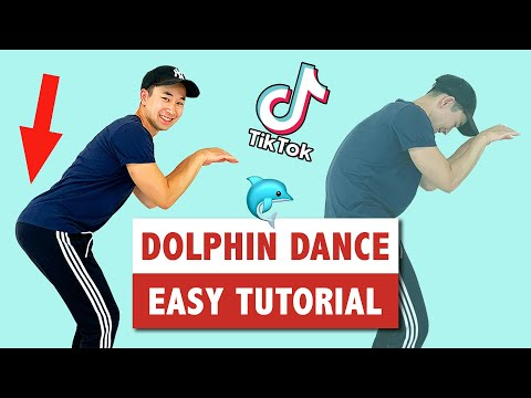 How To Dolphin Dance | Popular Tik Tok Dance Move