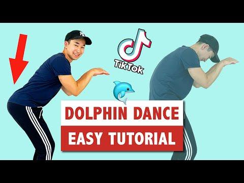 How To Dolphin Dance | Popular Tik Tok Dance Move
