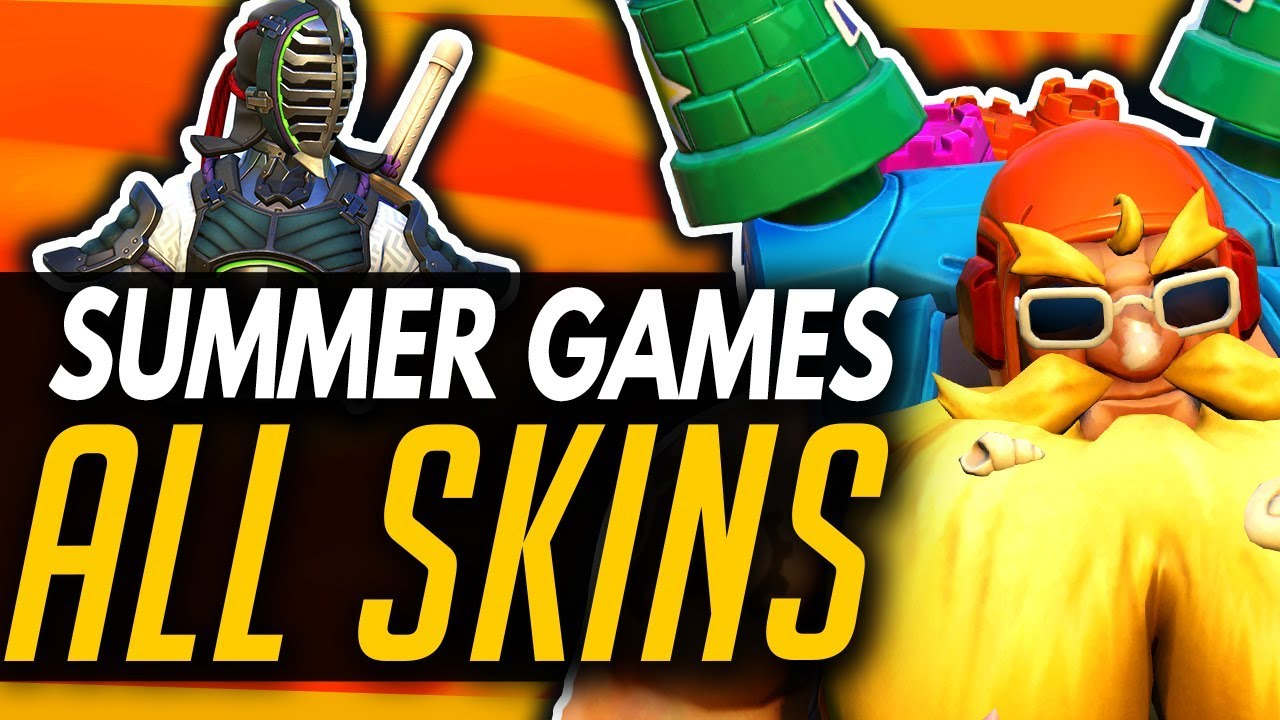 Overwatch | All Skins & Cosmetics - Summer Games 2019