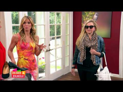 TANYA HEATH Paris for travel on Hallmark's Home and Family