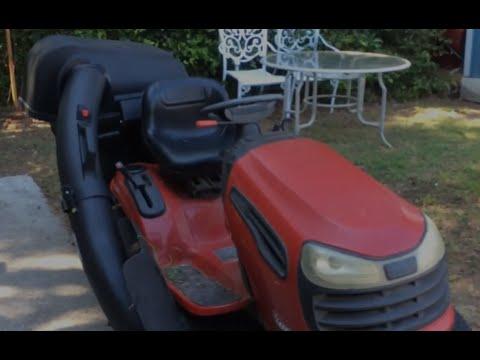 craftsman mower deck hook up