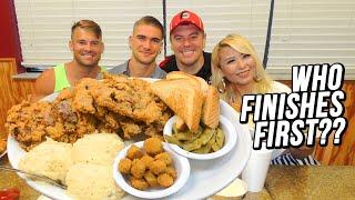Texas Chicken Fried Steak Challenge w/ Raina Huang & Joel Hansen!!