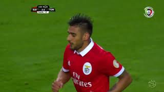 Goal | Golo Salvio: Benfica (2)-3 Tondela (Liga 17/18 #32)