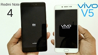 Xiaomi Redmi Note 4 vs Vivo V5 Speed Test - Which Is Faster?