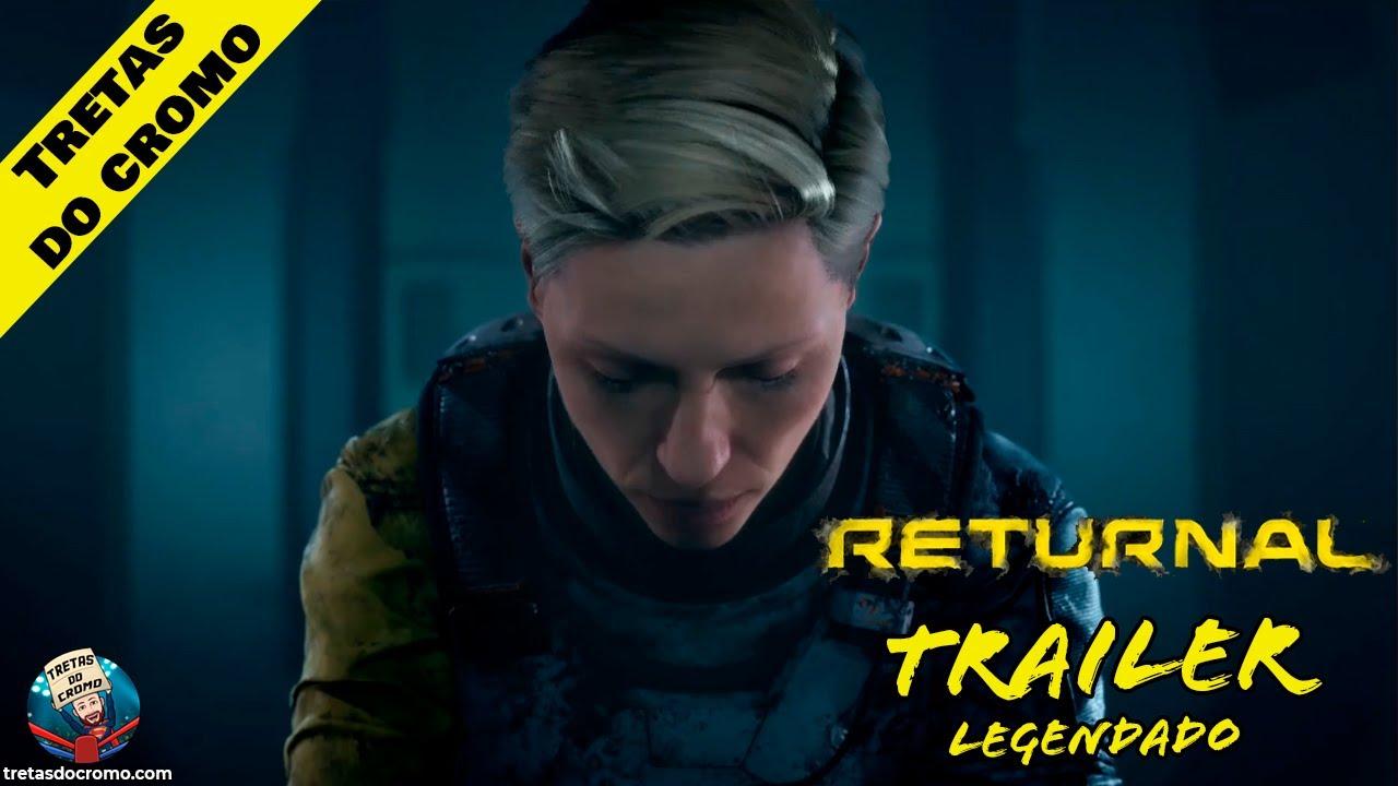 Returnal recebe trailer de lançamento