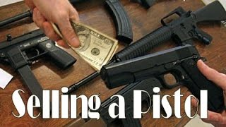 How to sell a Firearm/Private Gun Sale recorded - (Actual Firearm Sale Vlog)