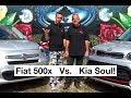 Fiat 500x vs Kia Soul!