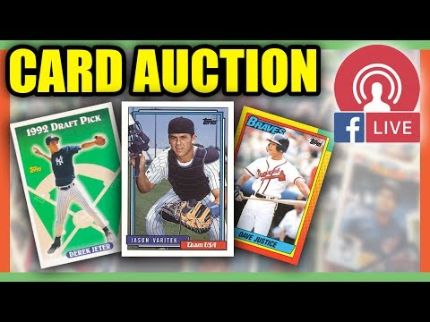 Baseball Cards For Sale Baseball Cards Worth Money Live