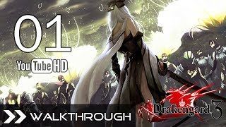 Drakengard 3 Walkthrough Gameplay English - Part 1 (C1: Verse 1-3 - 5 Sisters Boss) No Commentary