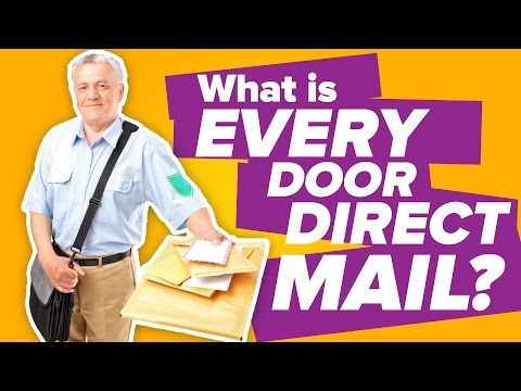 Every Door Direct Mail (EDDM): Save on Postage with USPS Program