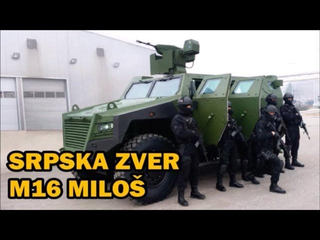 SRPSKA ZVER BOV M16 MILOŠ - KARAKTERISTIKE