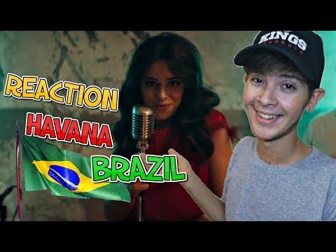 BRASILEIRO REAGINDO A HAVANA - CAMILA CABELO !!