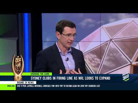 Sydney Clubs In Firing Line As NRL Looks To Expand   NRL 360