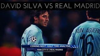 David Silva vs Real Madrid (H) 2012-2013 UCL HD