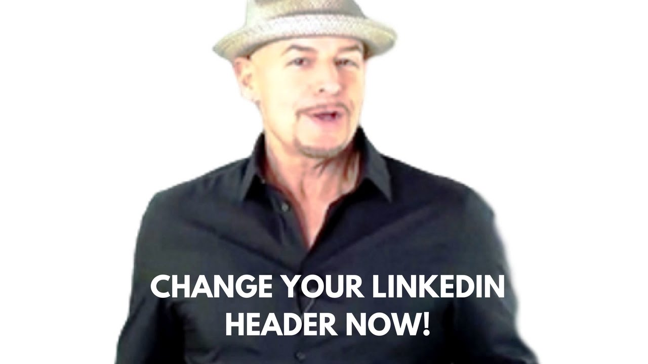 linkedin new format header size template youtube
