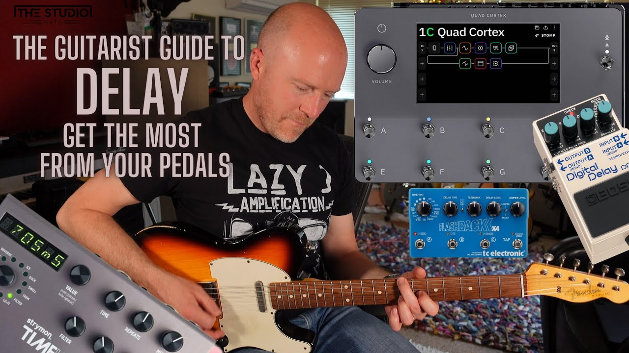The Guitarist Guide To Delay - Get The Most From Your Pedals