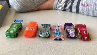 Serunya Main Mobil Mobilan Hot Wheels sama Adik dan Mama   Zara Cute bermain dengan Little Kenzo