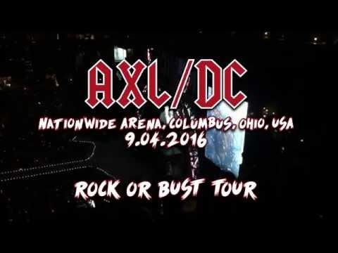AC⚡️DC with Axl Rose Live in Columbus, Ohio [2016] FULL CONCERT