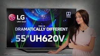Видео-обзор телевизора LG 55UH620V(Купить телевизор LG 55UH620V Вы можете, оформив заказ у нас на сайте: ..., 2016-09-21T08:04:23.000Z)