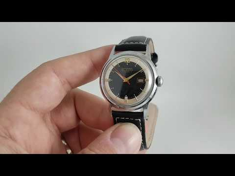 """Junghans Astro Chron (First quartz clock for """"normal"""" customers) from YouTube · Duration:  5 minutes 33 seconds"""
