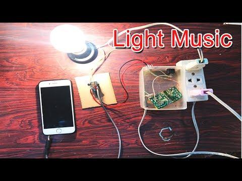 How to make Light Music circuit Power 220v 100watt