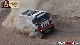 TATRA Buggyra Racing on Dakar 2015 - Stage 9 (Iquique - Calama)