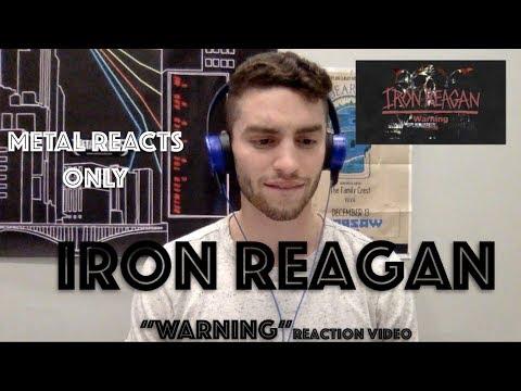 """IRON REAGAN """"Warning"""" Reaction Video   Metal Reacts Only   MetalSucks"""