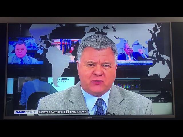 Hashtag Curitiba na TV Band