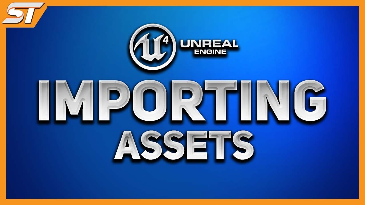 Importing 3D models into Unreal Engine 4