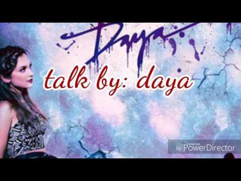 daya- talk lyrics