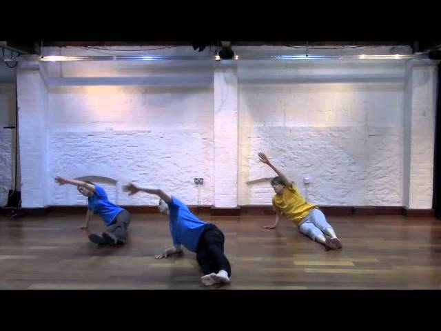 Stopgap Dance Company (inclusive dance class for disabled people) Floor work with Chris