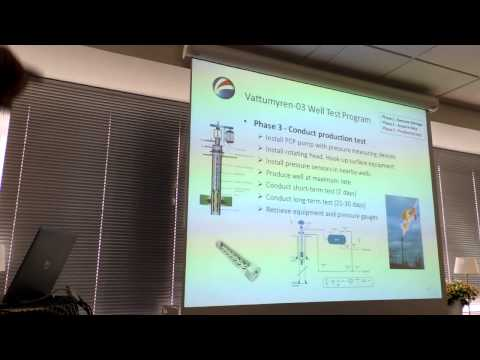 Petroleum Engineer Erik Steenken Production Test Presentation 2015 AB Igrene