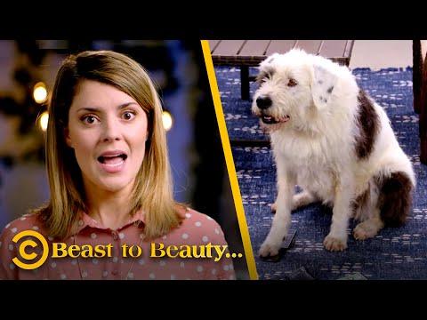 How to Make a Bad Dog Be a Good Boy Again (ft. Grace Helbig) - Beast to Beauty