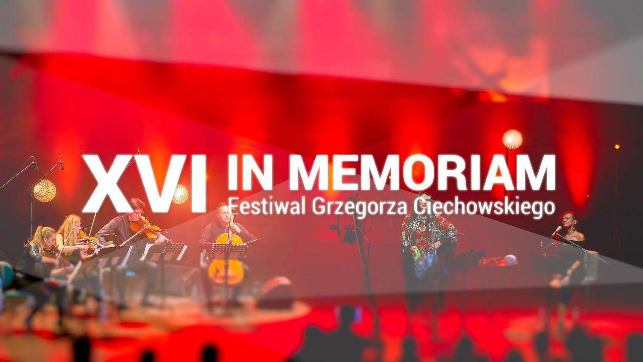 Tczew, 2017. XVI In Memoriam Festiwal Grzegorza Ciechowskiego