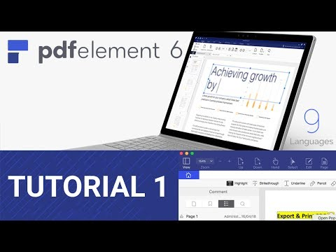Thumbnail: Tutorial PDFelement 6 - Escanear múltiples archivos a PDF