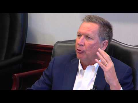 Ohio Gov. John Kasich meets with Deseret News/KSL editorial board