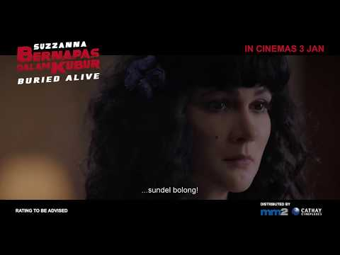 Suzzanna: Bernapas Dalam Kubur / Buried Alive Teaser Trailer - In Cinemas 3 Jan 2019